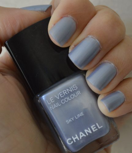 Chanel Sky Line nail polish review – Bay Area Fashionista