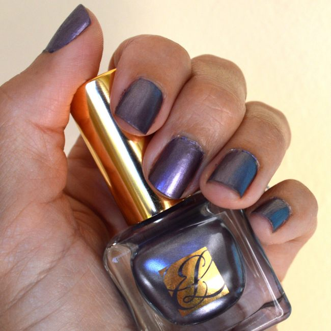 Estee Lauder Chrome Violet Nail Polish Review