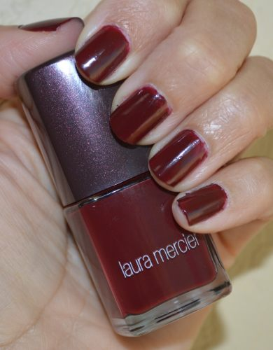 Laura Mercier Crimson nail polish for the holidays – Bay Area ...