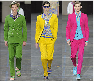 Spring 2012 fashion trends for men: the bright suit | Bay Area