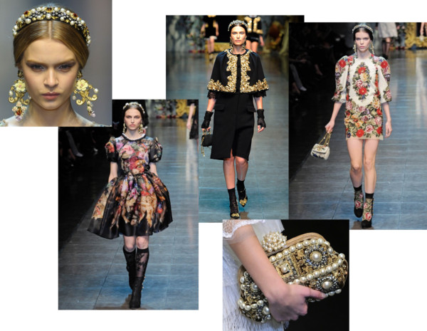 Winter 2013 Trends Baroque Bay Area Fashionista