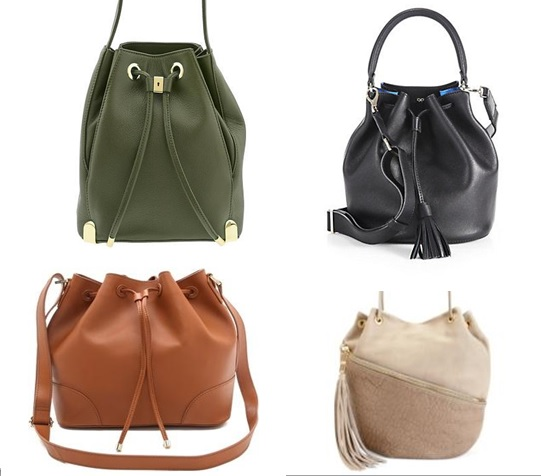 2017 fashion bag trend - Street Style Trends The Drawstring Bucket Bag Bay Area