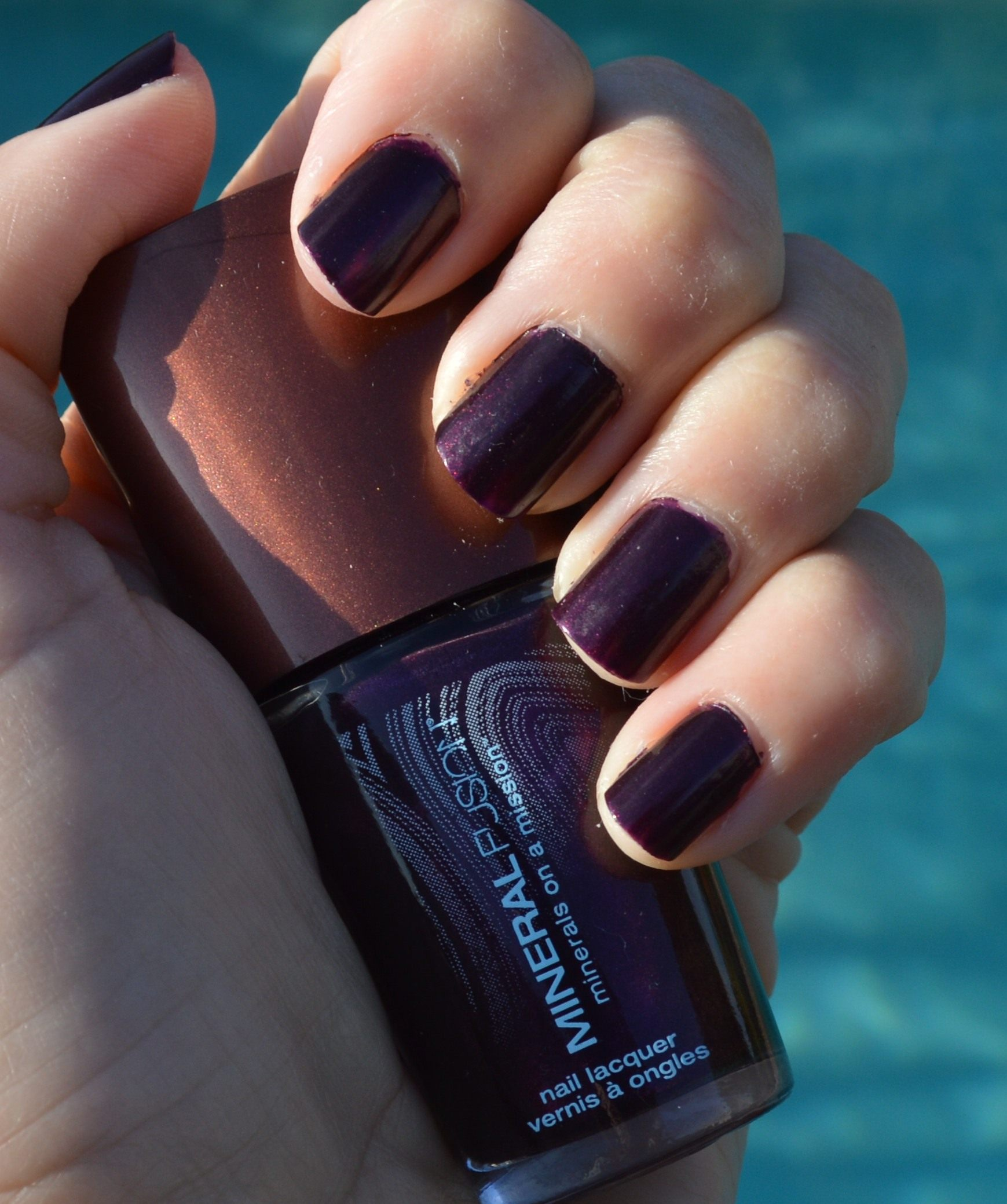 Mineral Fusion Amethyst nail polish review – Bay Area Fashionista