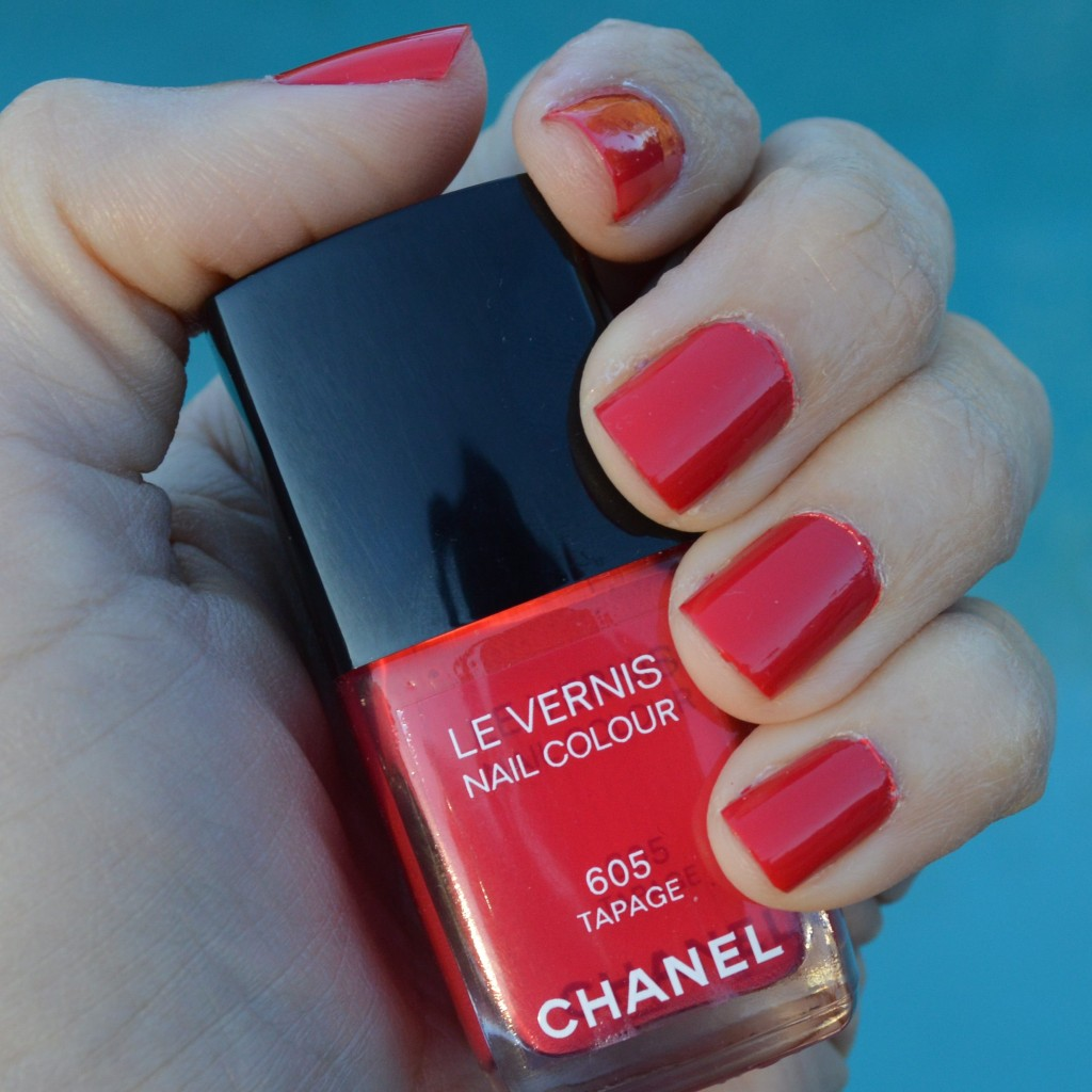 Chanel Tapage nail polish for spring 2014 review – Bay ...