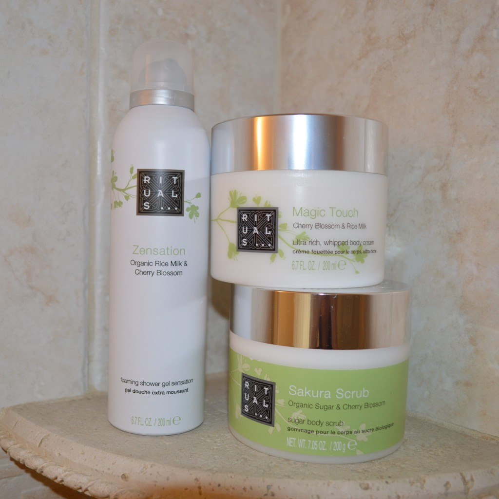 Bath Products : ... Blossom and Rice Milk bath products review Bay Area Fashionista