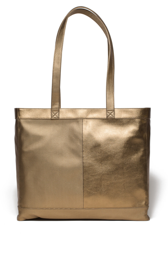B1402GM99 Tiburon Tote gold metallic FRONT