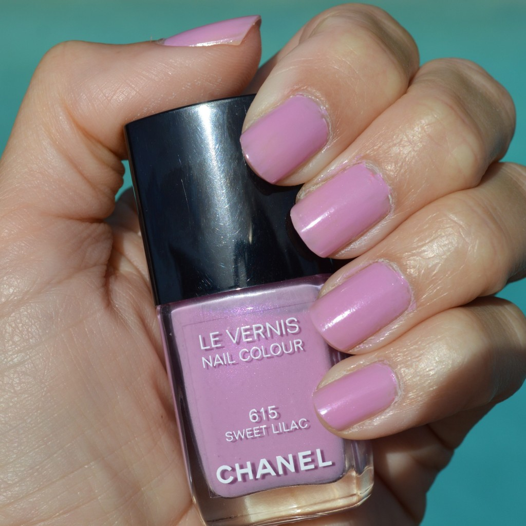 Chanel Sweet Lilac nail polish for summer 2014 review ...