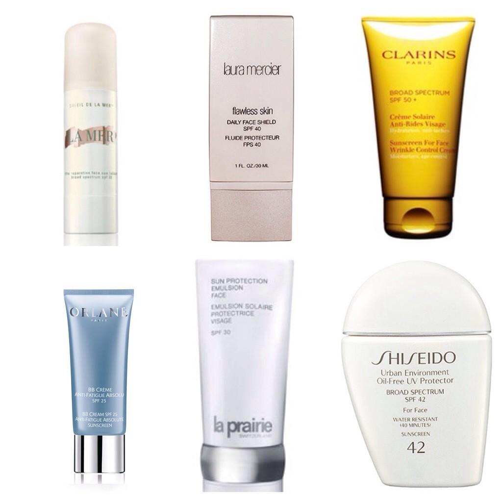 sunscreen face 2014