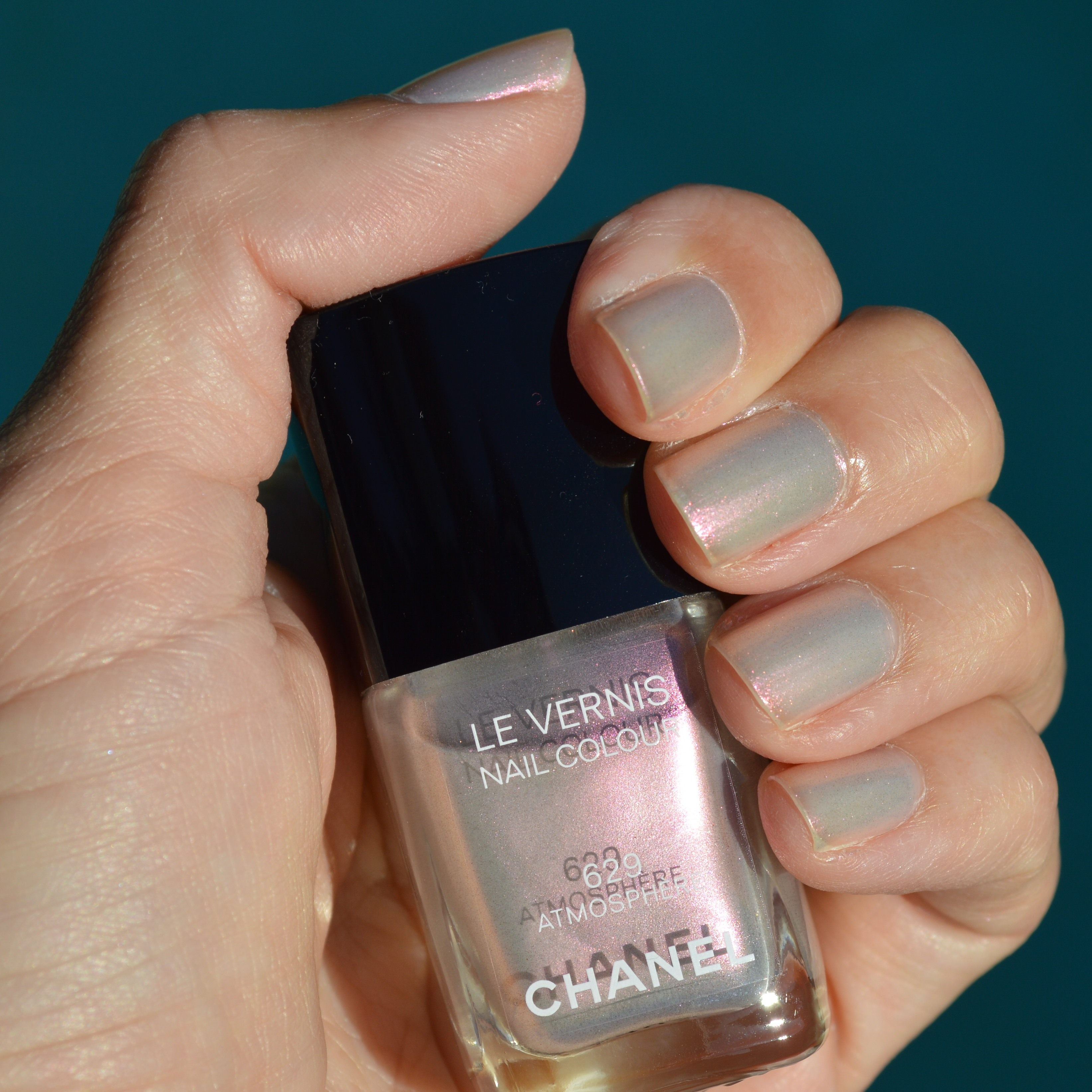 Chanel Atmosphere nail polish for fall 2014 review – Bay Area ...