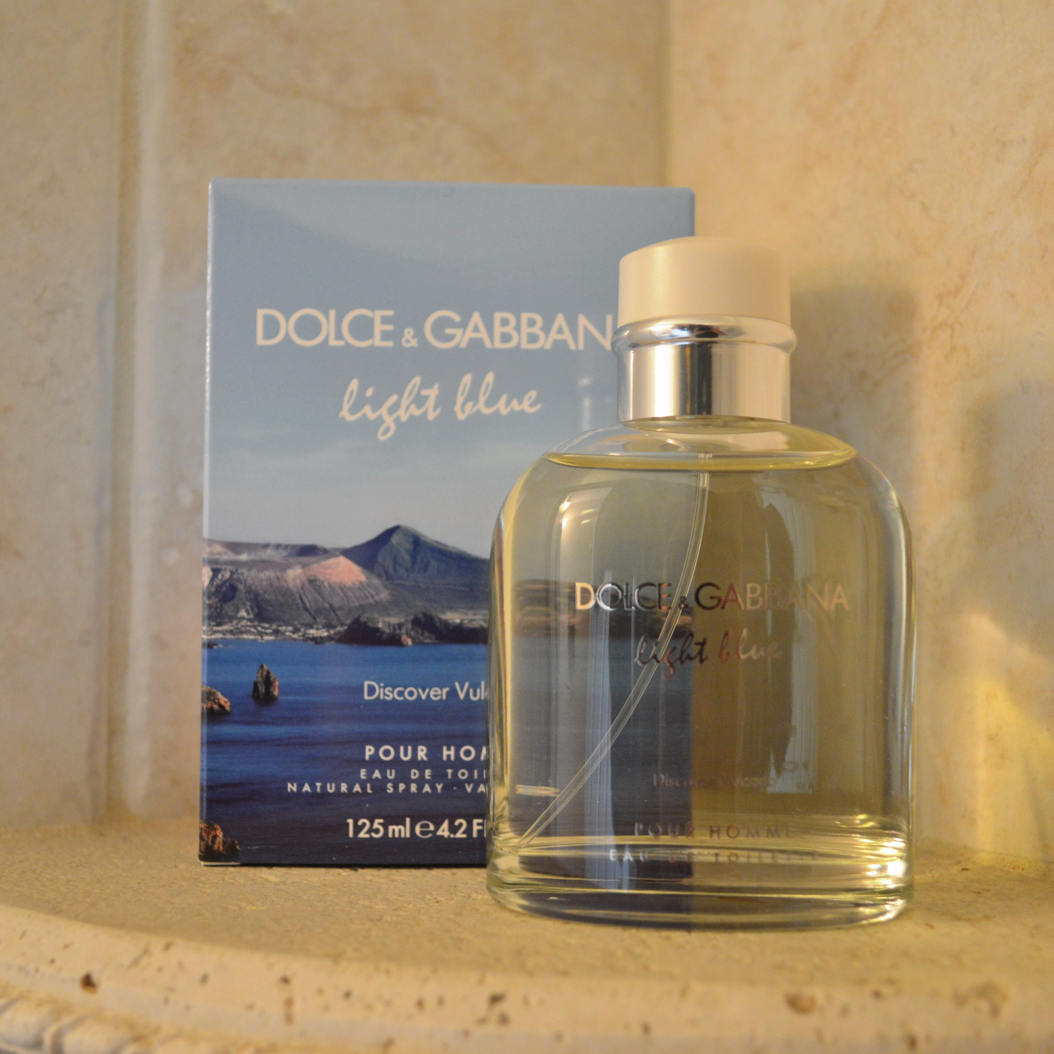 Pictured: C/o Dolce U0026 Gabbana Light Blue Discover Vulcano Pour Homme Edt.