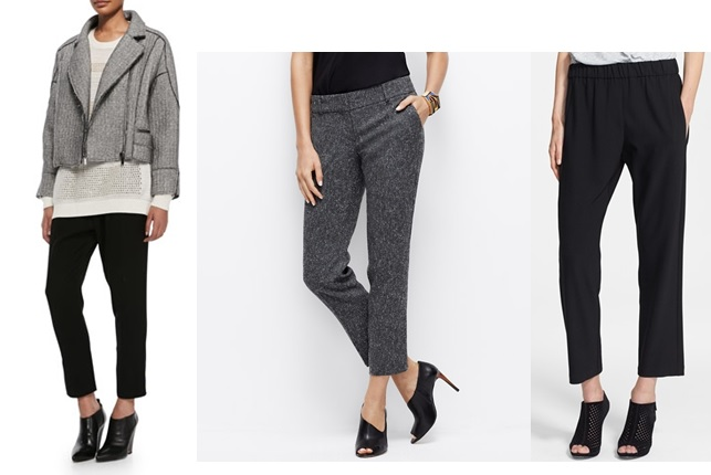 cropped trousers pants fall 2014