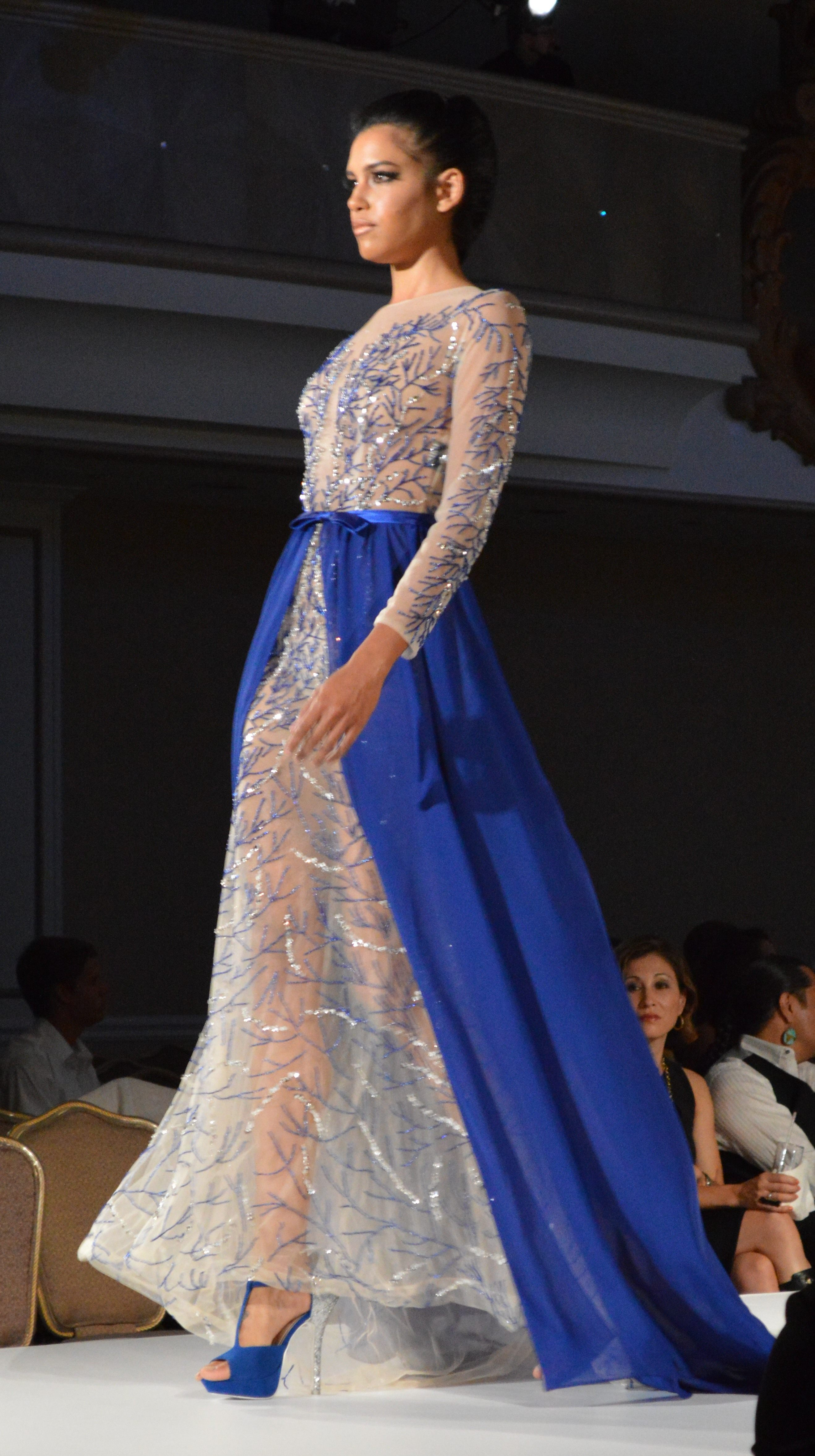 The First Parisian Haute Couture Show In San Francisco