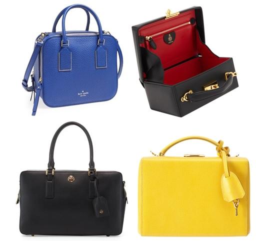 boxy box handbags