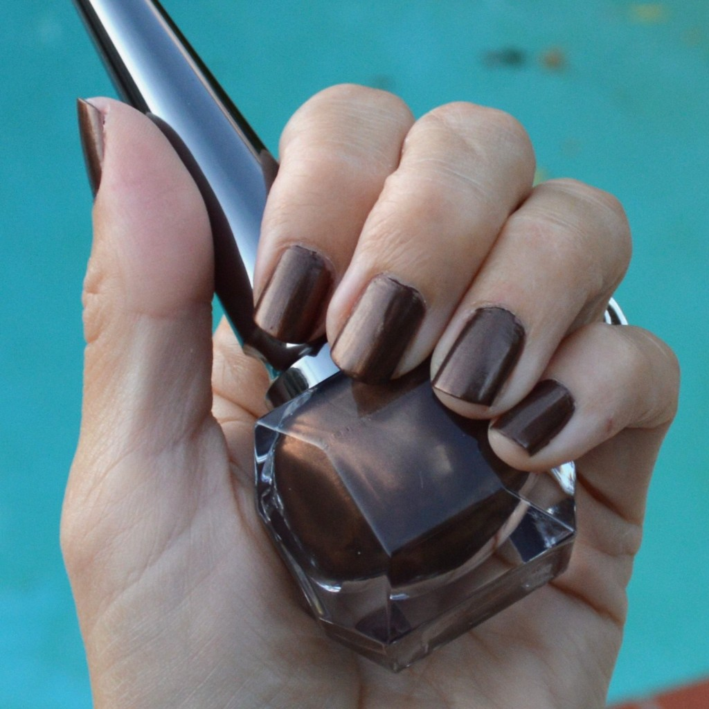 christian louboutin farida nail polish brown