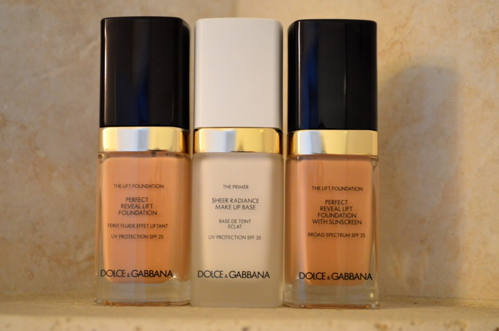 dolce & gabbana foundation and primer
