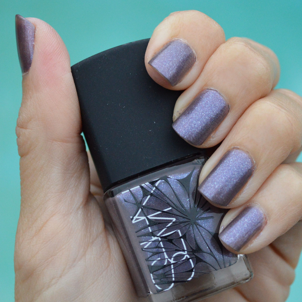 Pictured: Nars Alogonquin nail polish for winter 2015. 2014©