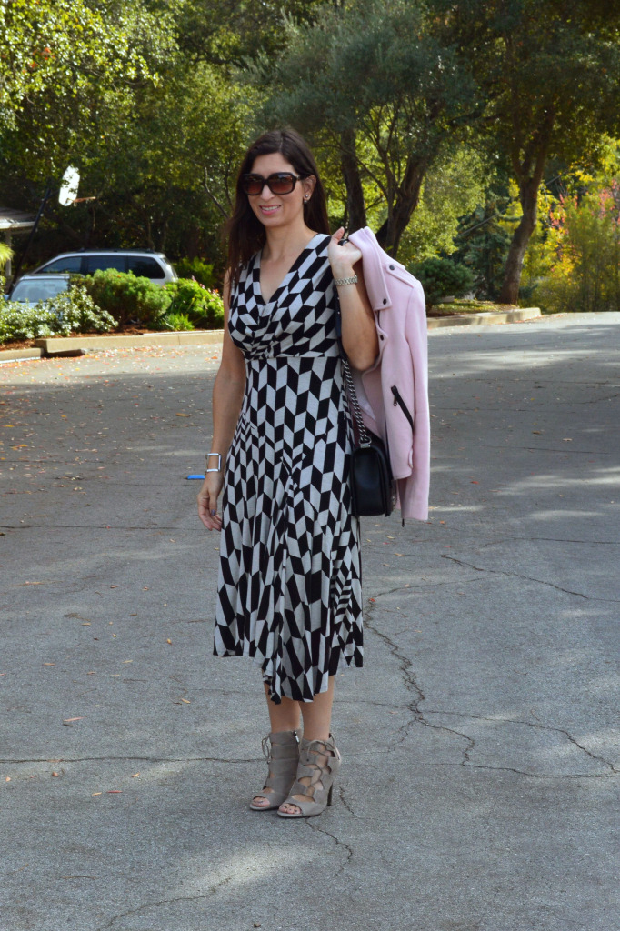 tracey reese dress with jacket