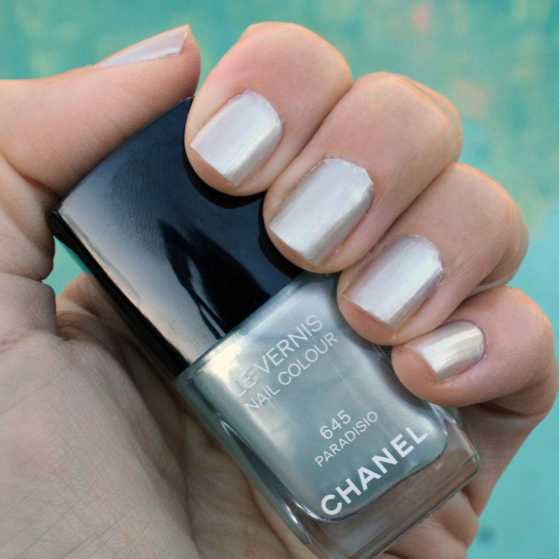 Pictured : Chanel Paradisio nail polish for spring 2015. One base coat ...