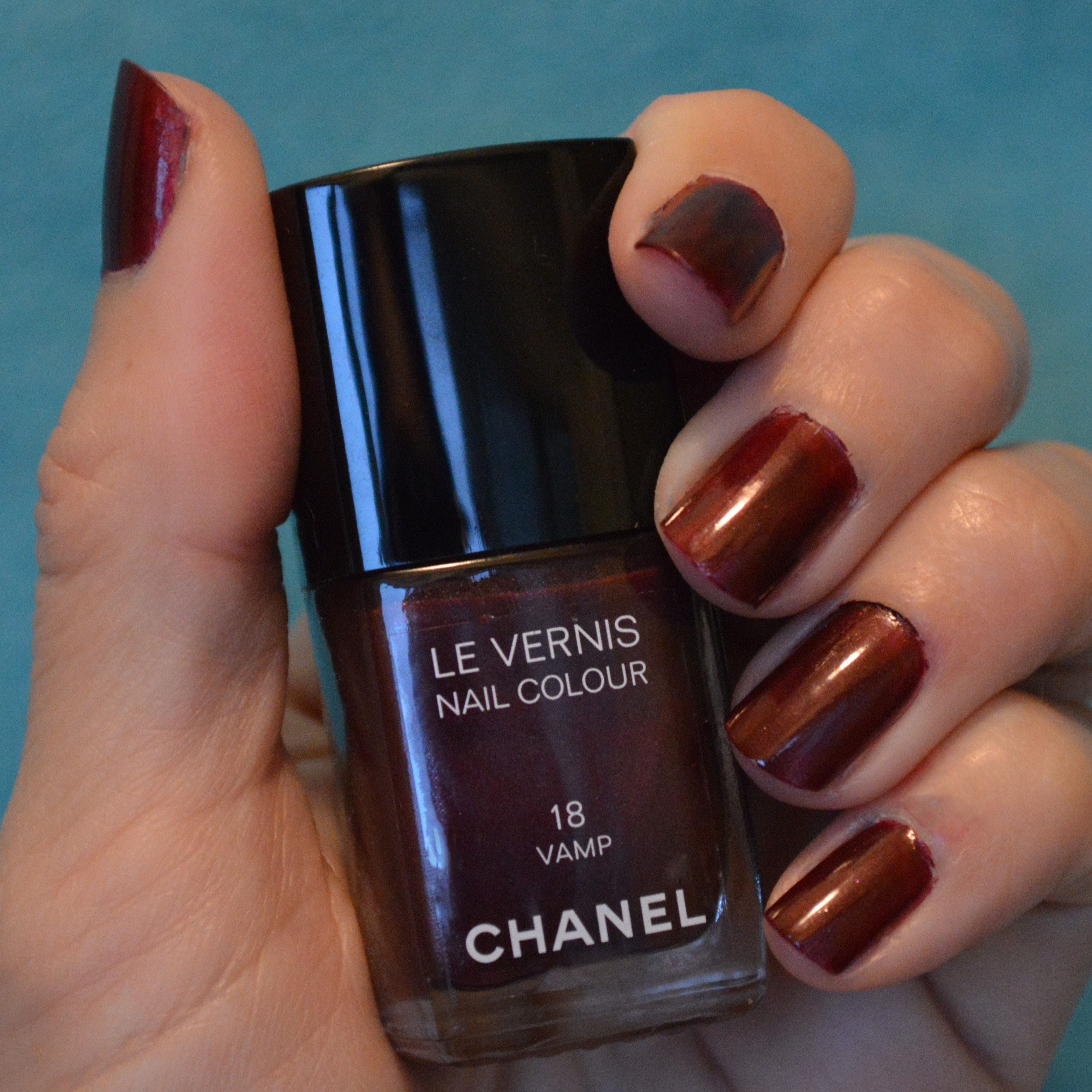 Chanel Vamp nail polish holidays 2014 review | Bay Area Fashionista