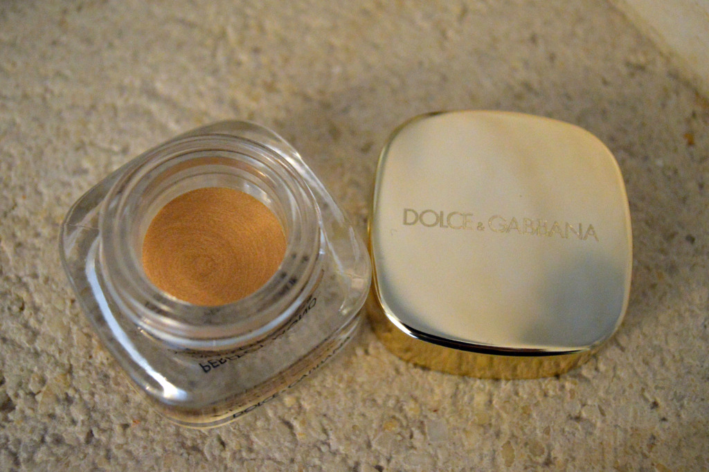 dolce gabbana pure gold eye shadow