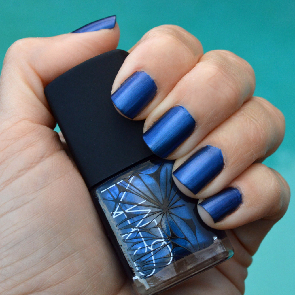 nars barents sea nail polish winter