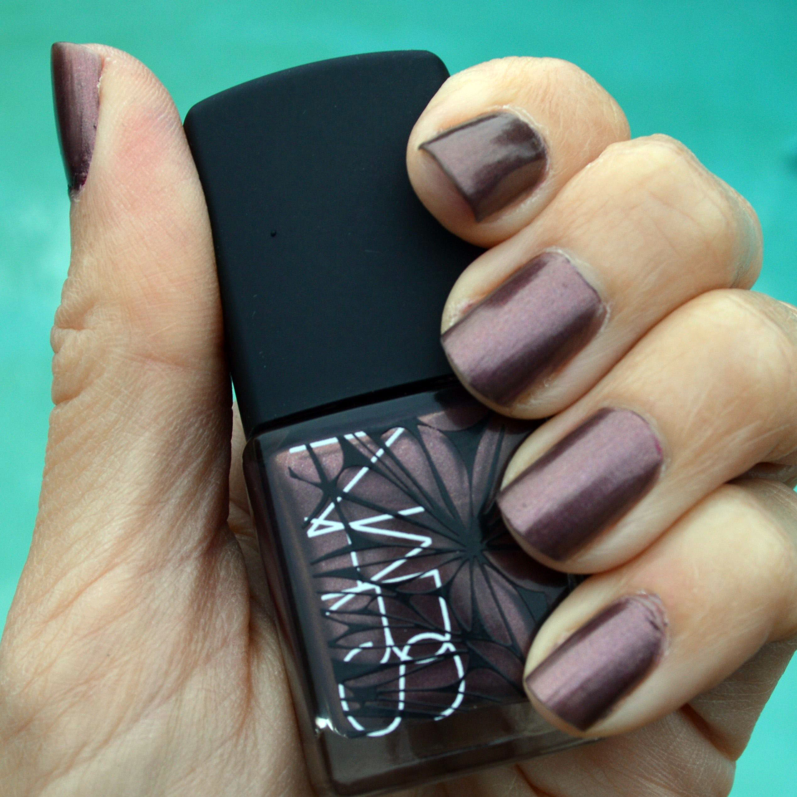 nars sherwood nail polish for winter 2015 review | bay area