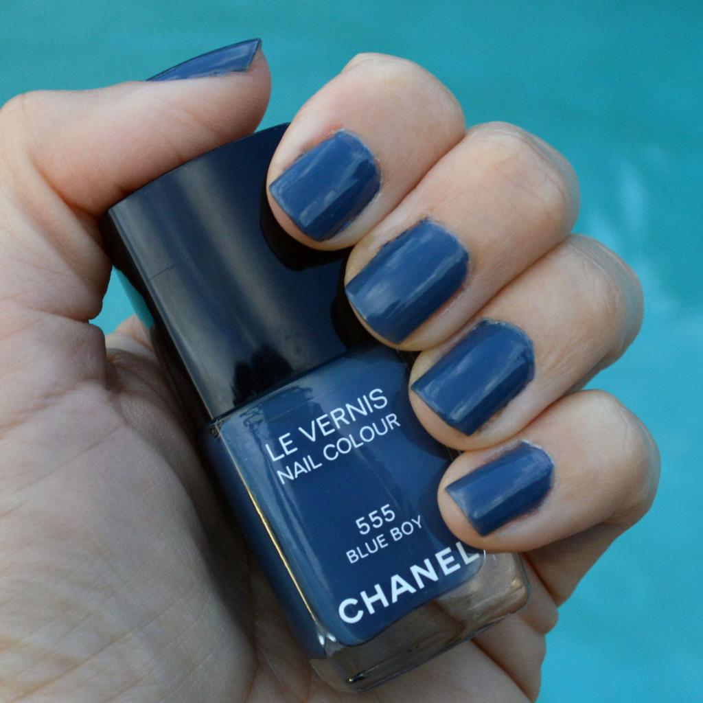 Chanel blue boy nail polish