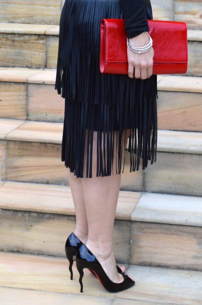 christian louboutin wiggle pumps high heels