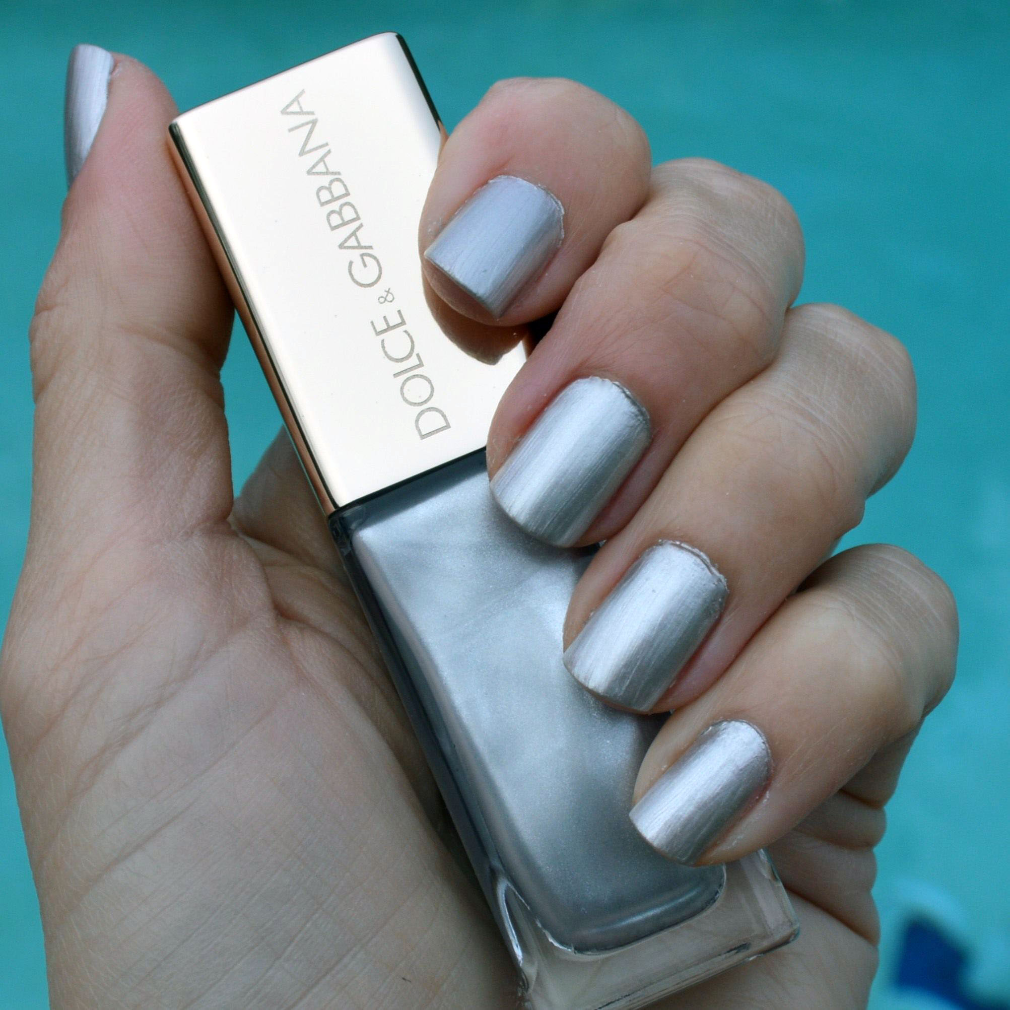 Dolce & Gabbana Pearl Shimmer nail polish for spring 2015 review ...