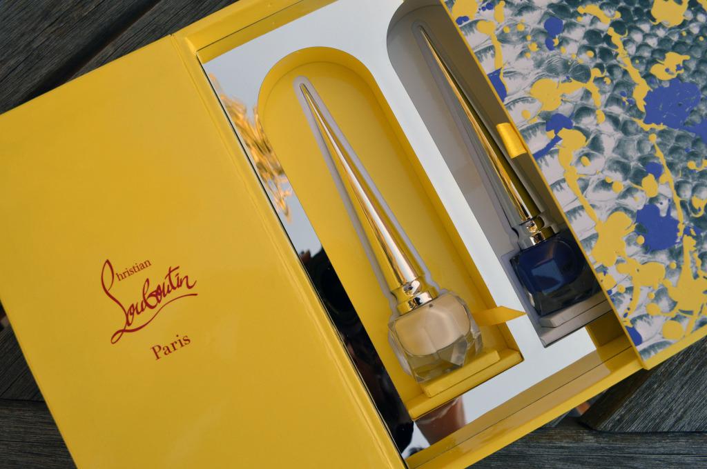 christian louboutin python volcano mini coffret nail polish set spring 2015