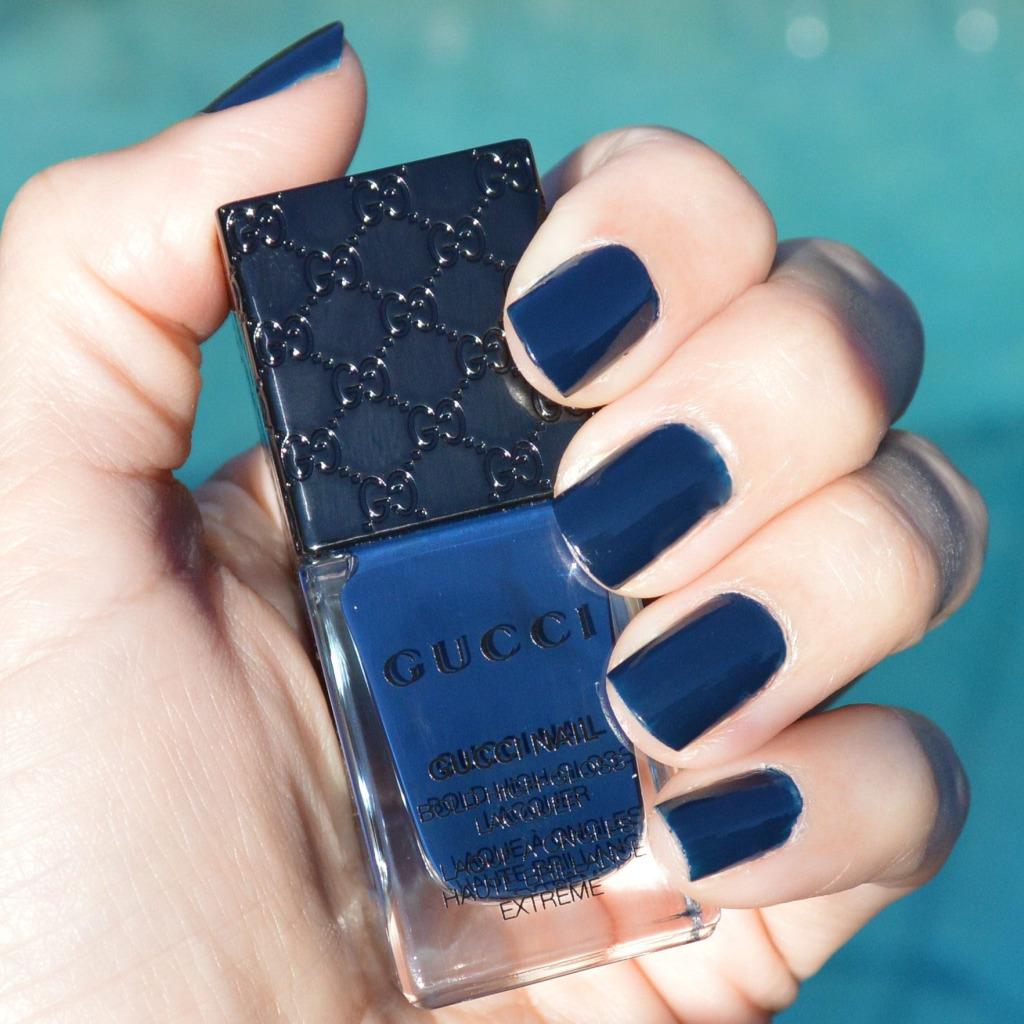 gucci abyss nail polish spring 2015