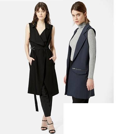 sleeveless jackets vests spring 2015