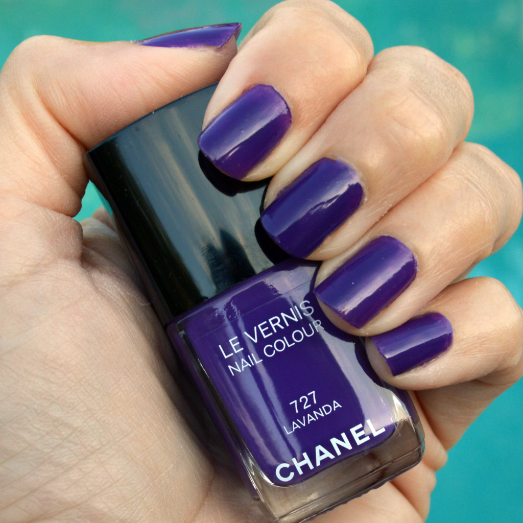 chanel lavanda nail polish summer 2015 review