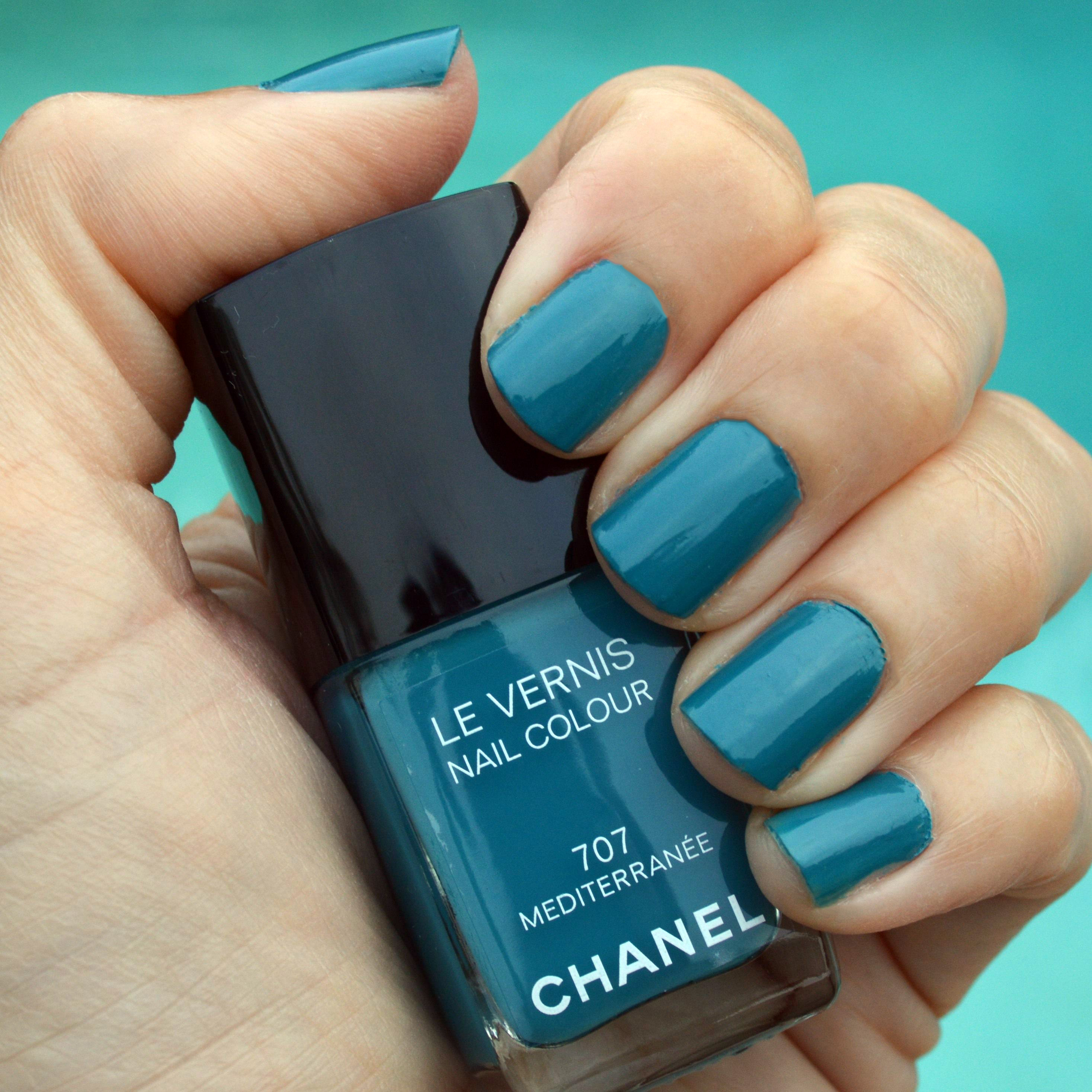 Chanel Mediterranee nail polish for summer 2015 review – Bay Area ...