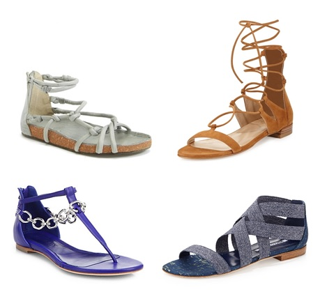 flat sandals for spring