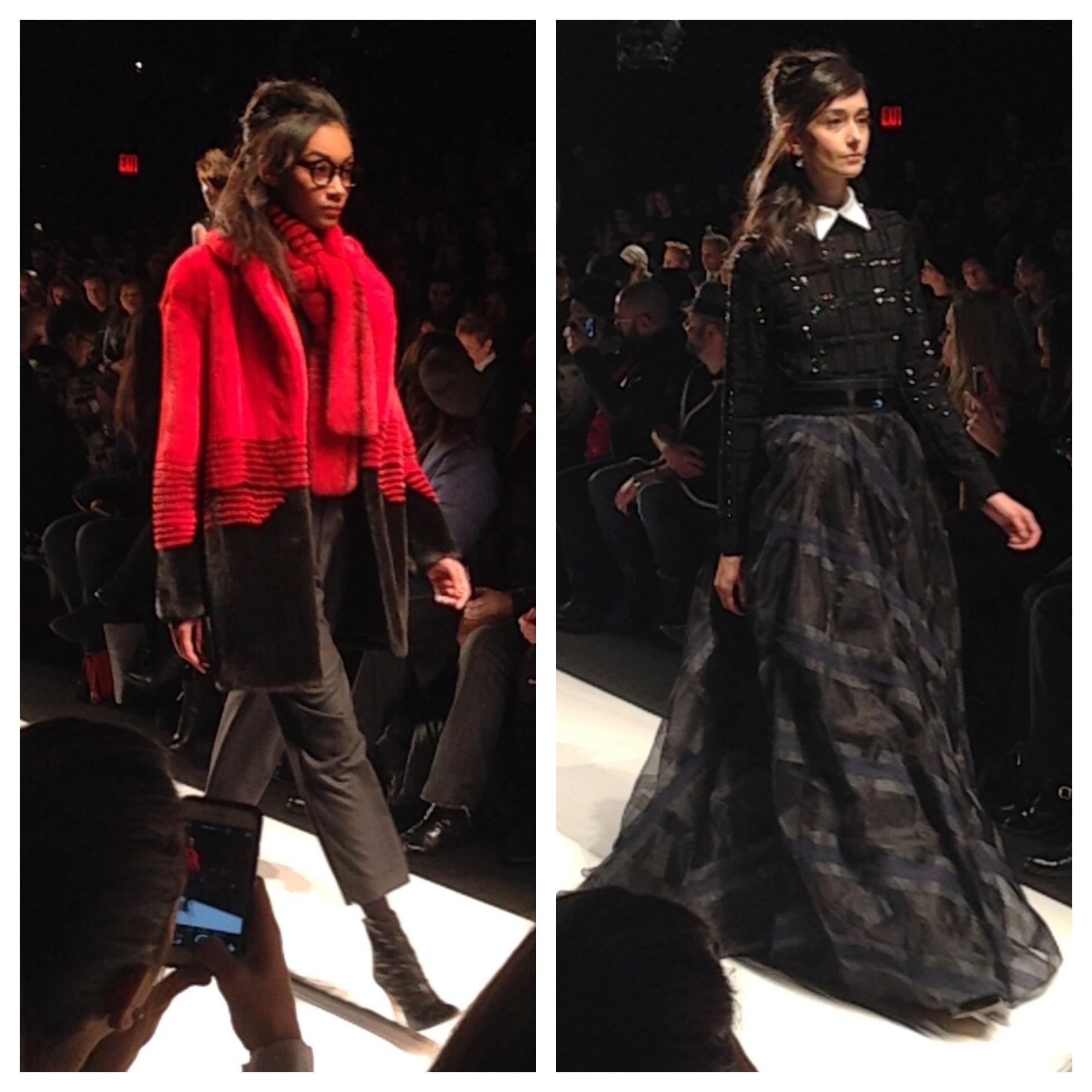 New For Auntum 2015: Carmen Marc Valvo Fall 2015 New York Fashion Week