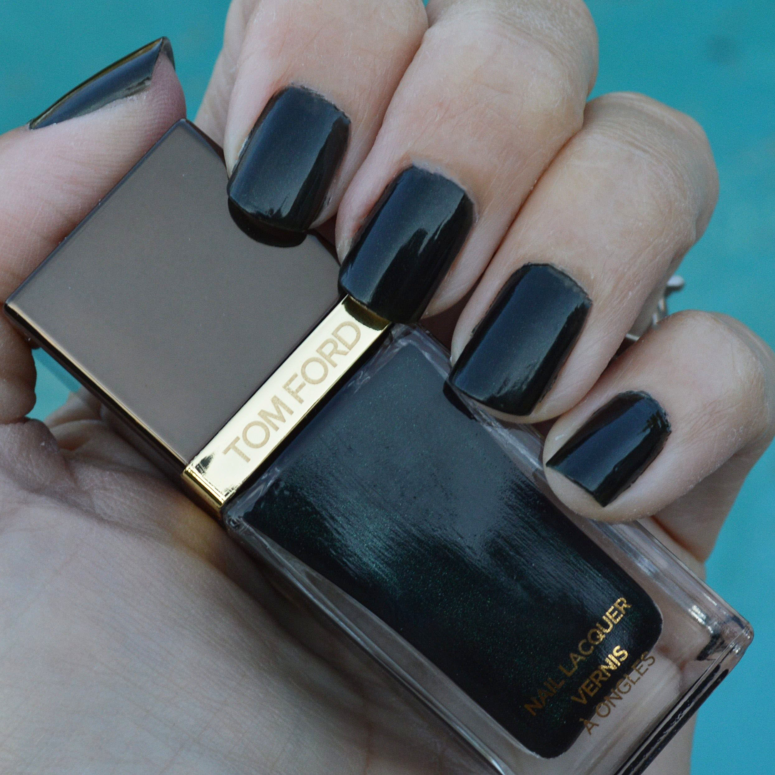 Tom Ford Black Jade nail polish for spring 2015 review – Bay Area ...