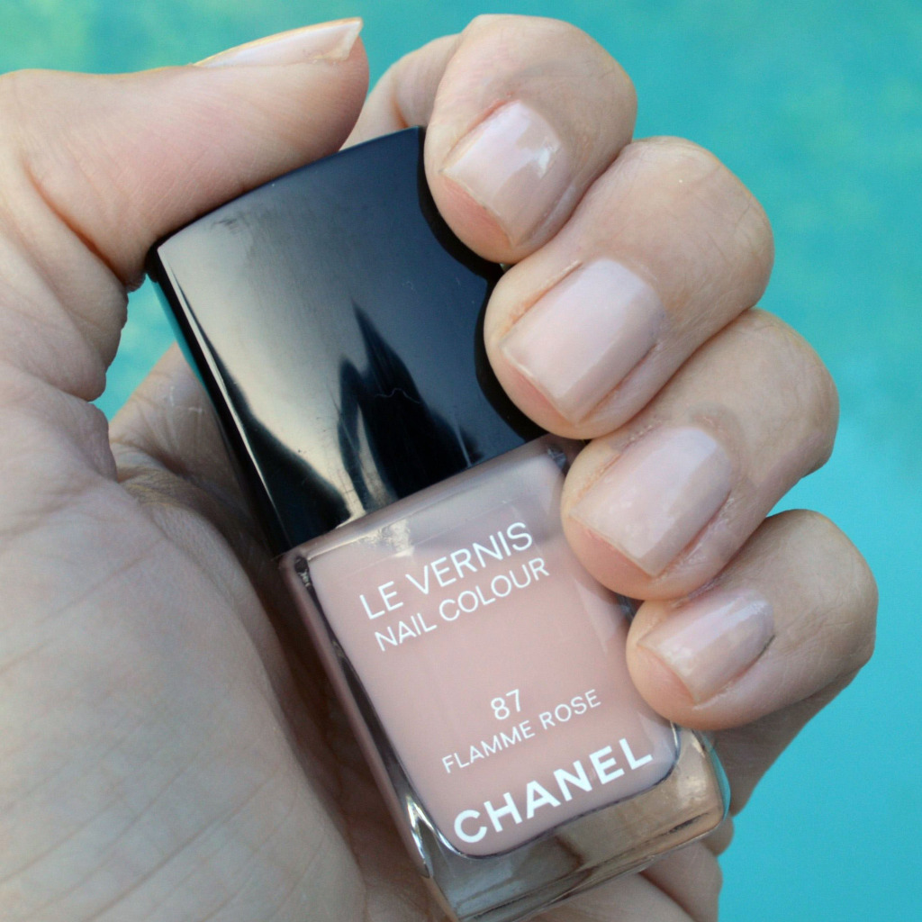 Chanel Flamme Rose nail polish review – Bay Area Fashionista