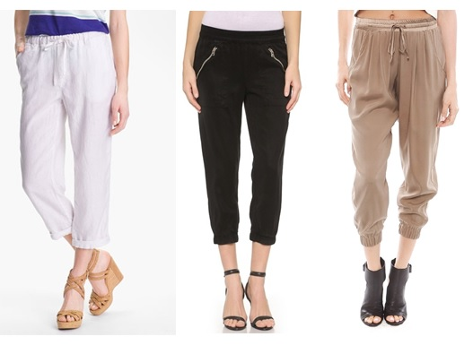 cropped pants for summer 2015