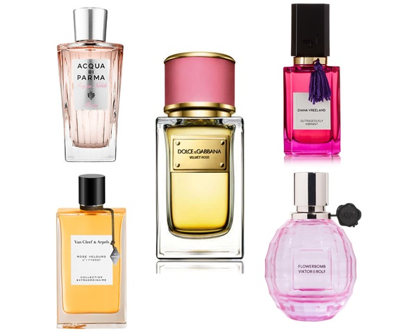 rose fragrances perfumes for spring summer 2015 trend