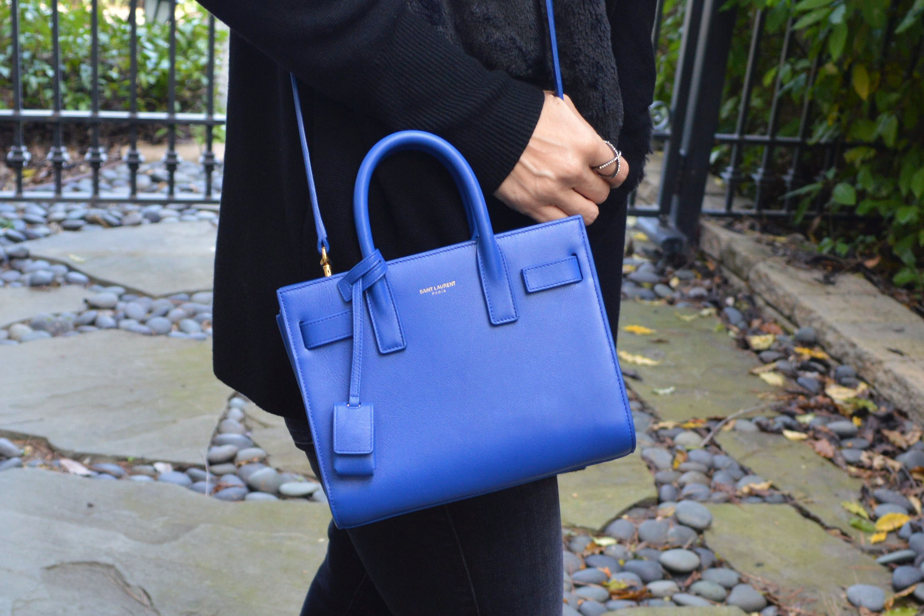 ysl rive gauche bag - Saint Laurent Sac du Jour nano tote review | Bay Area Fashionista