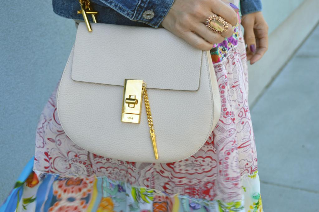 chloe drew shoulder bag outfit idea blogger