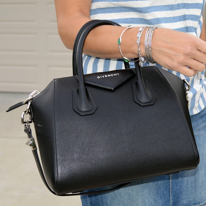 Givenchy Top Handle Handbag, Mini Antigona, Night Blue, Leather, 2017, one size