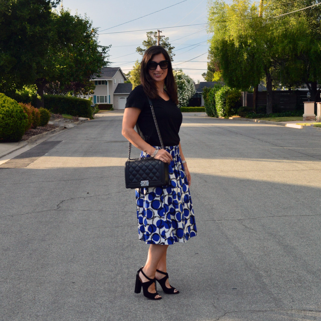 kate spade skirt summer outfit idea style fashion blogger