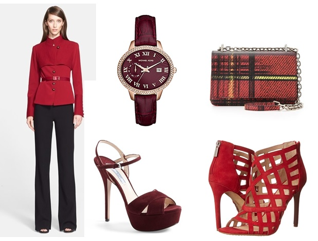 shades of red fall 2015 color trends for fall