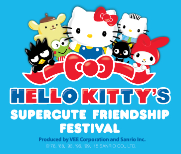 Hello Kitty Supercute Friendship Festival Logo - color