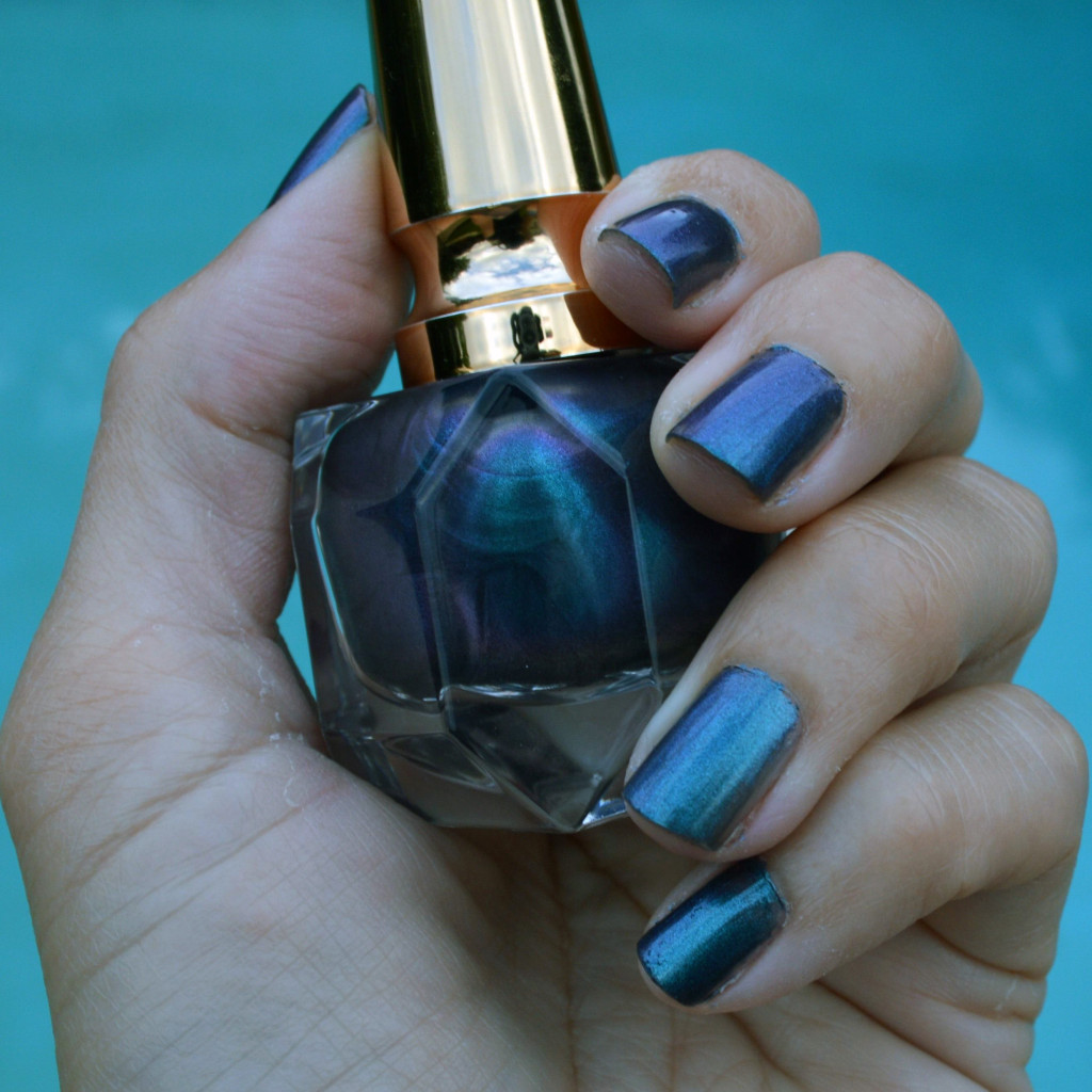 christian louboutin violet blue nail polish review summer 2015