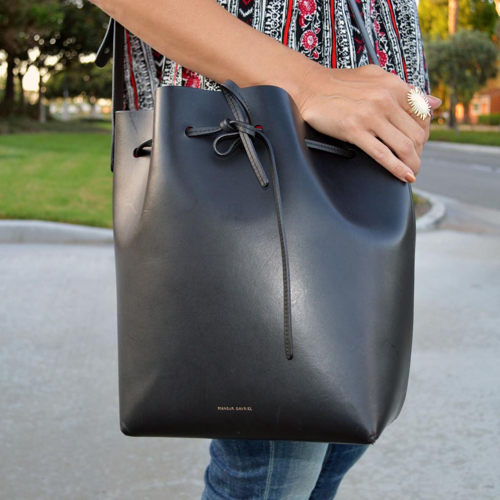 mansur gavriel style blogger outfit idea buy online