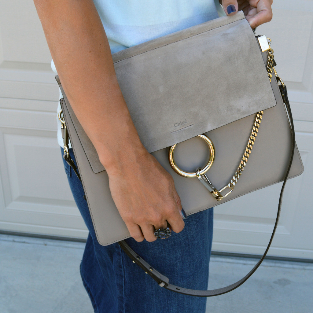 medium chloe faye grey fall handbag review it bags