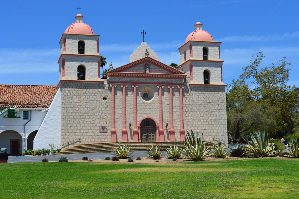 santa barbara mission summer style blog